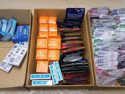 愛知県のお客様より小林製薬、ファンケル、オリヒロ、アサヒ、井藤漢方等の商品をお売りいただきました。