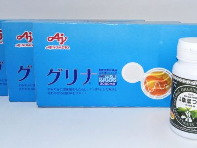 大阪府のお客様より味の素、桜江町桑茶生産組合の商品をお売りいただきました。