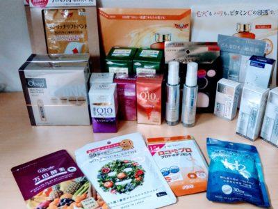 大阪府のお客様よりオバジ、資生堂、万田酵素、タケダ、ドクターシーラボ等の商品をお売りいただきました。